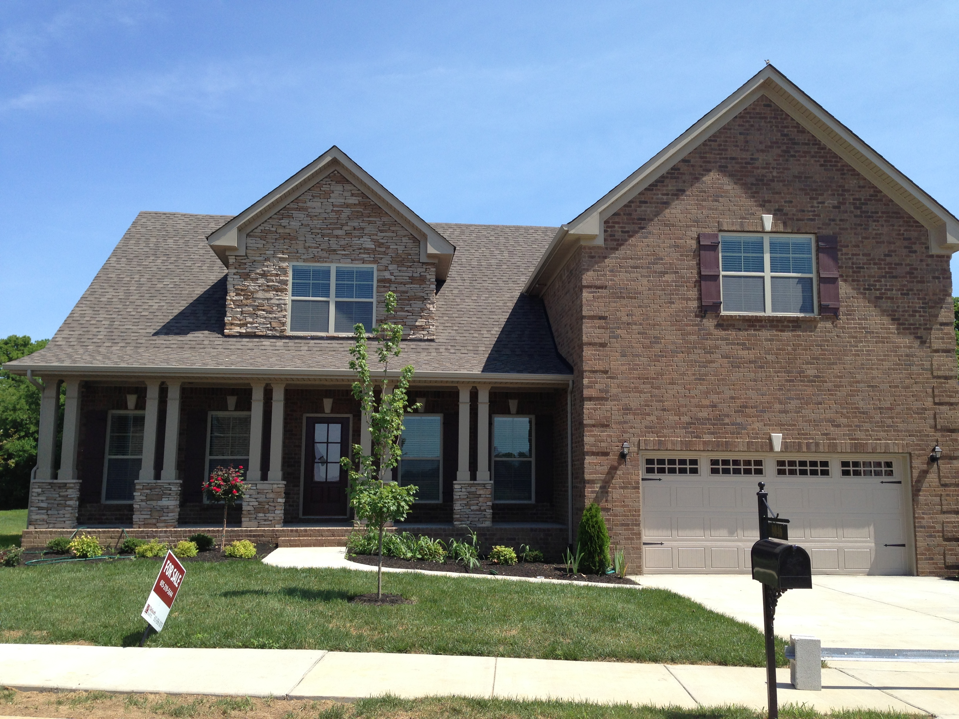 It is still a buyer s market for new ole south homes for Brick house design blog