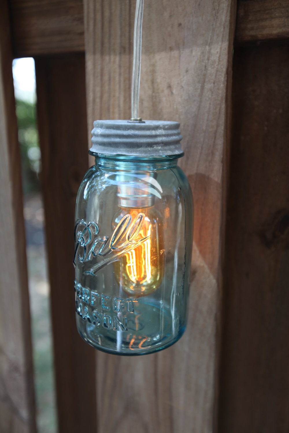 The hottest southern emblem 10 ways to use your mason for Hanging lights made from mason jars